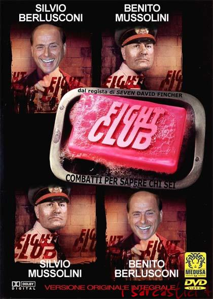 La locandina del film Fight club