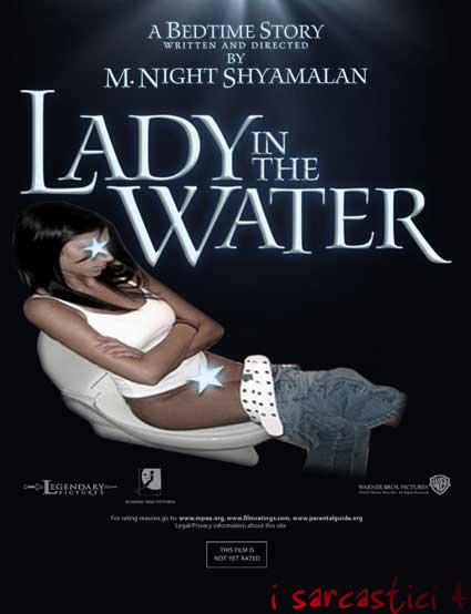 La locandina del film Lady in the water