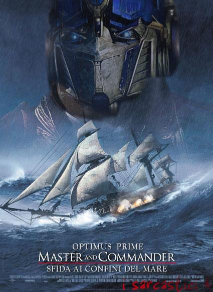 La locandina del film Master and commander
