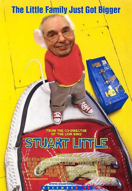 La locandina del film Stuart Little