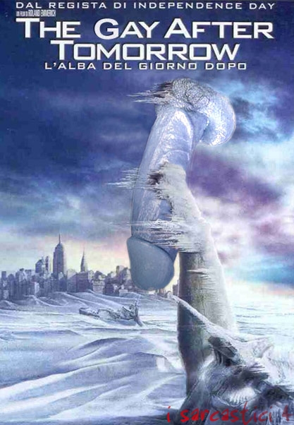 La locandina del film The day after tomorrow