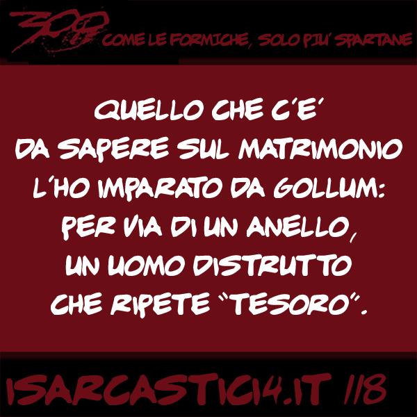 Amato 300 | I sarcastici 4 – Sarcasmo – Vignette umoristiche – Frasi  BO14