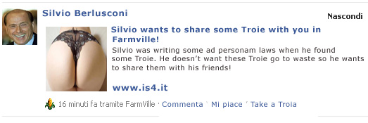 Farmville Berlusconi