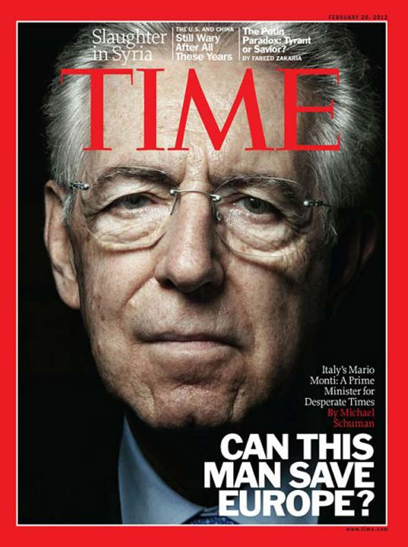time cover - mario monti - can this man save europe