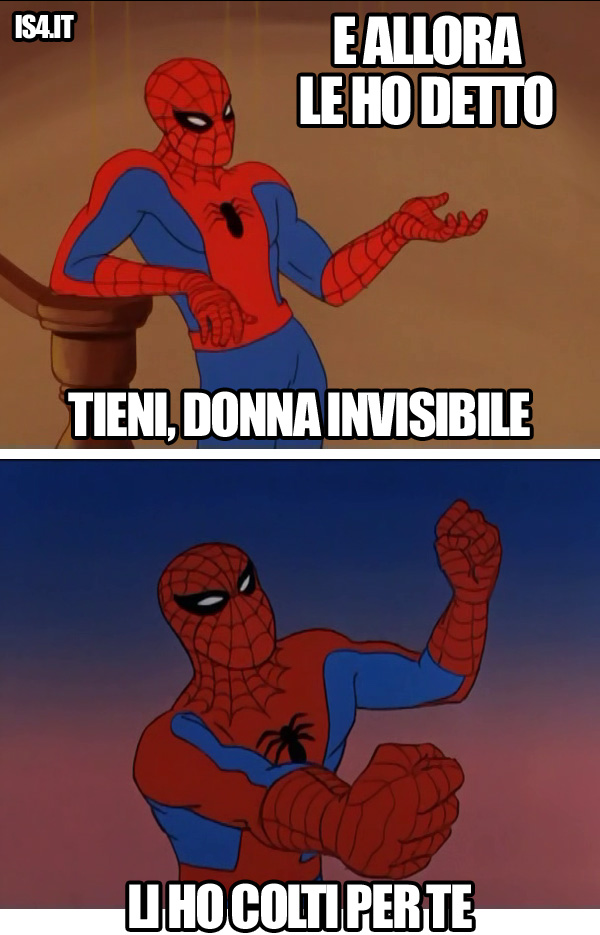 60s Spider-Man meme ita -  Romanticismo/03