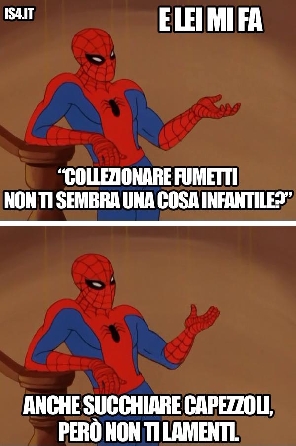 60s Spider-Man meme ita -  Infantile