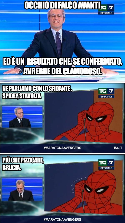 60s Spider-Man meme ita -  Speciale LA7