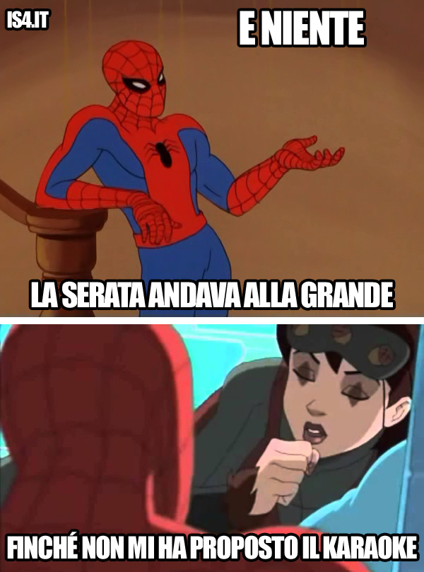 60s Spider-Man meme ita -  Misunderstanding/03