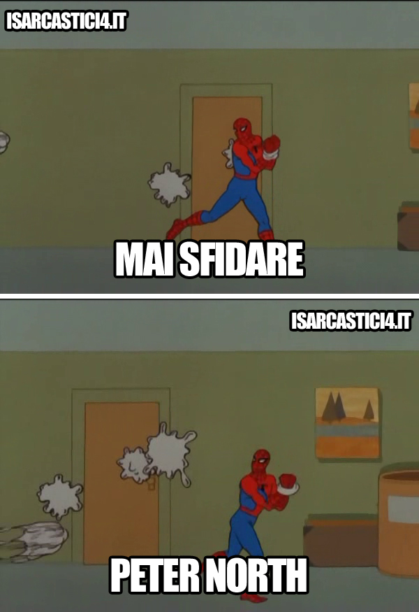60s Spider-Man meme ita - Porno, mai sfidare Peter North