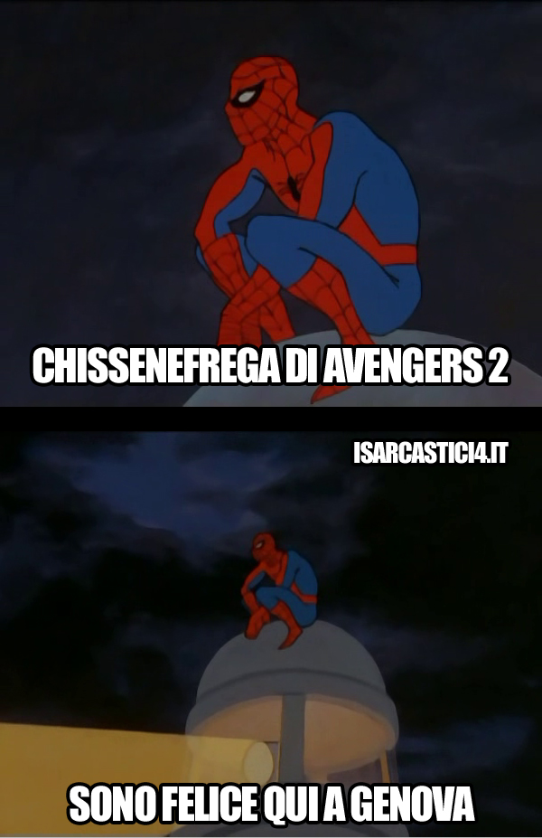 60s Spider-Man meme ita - The Avengers 2