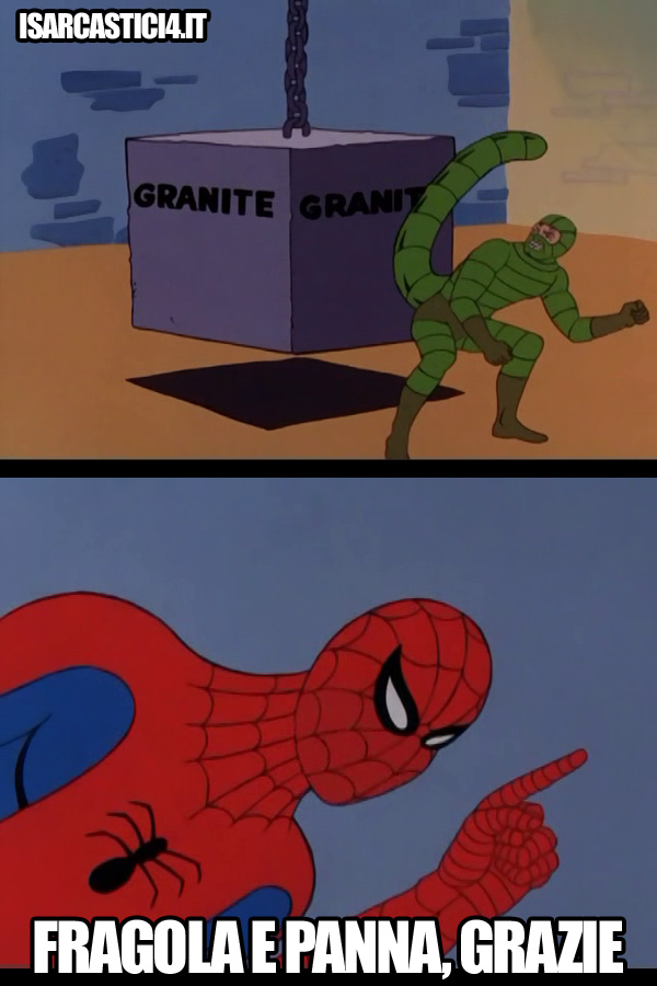 60s Spider-Man meme ita - granite