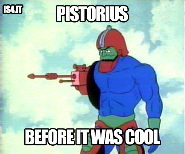 Before it was cool - Pistorius & Masters of the Universe hipster meme