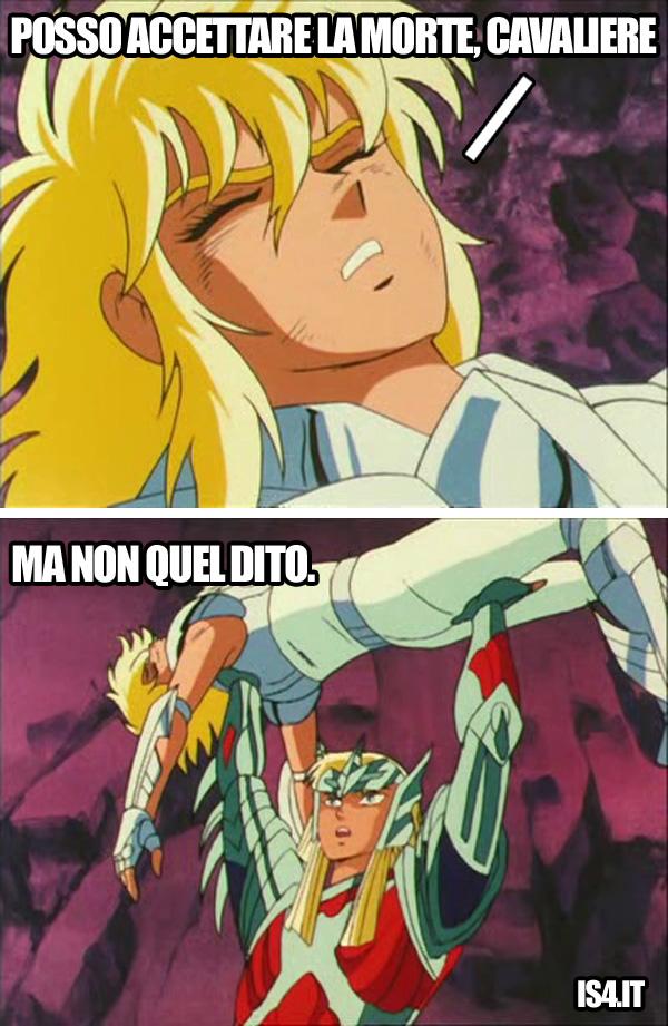 Cavalieri dello zodiaco meme ita, Asgard - La dignità di un cavaliere