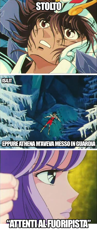 Cavalieri dello zodiaco meme ita - Asgard, il bollettino meteo
