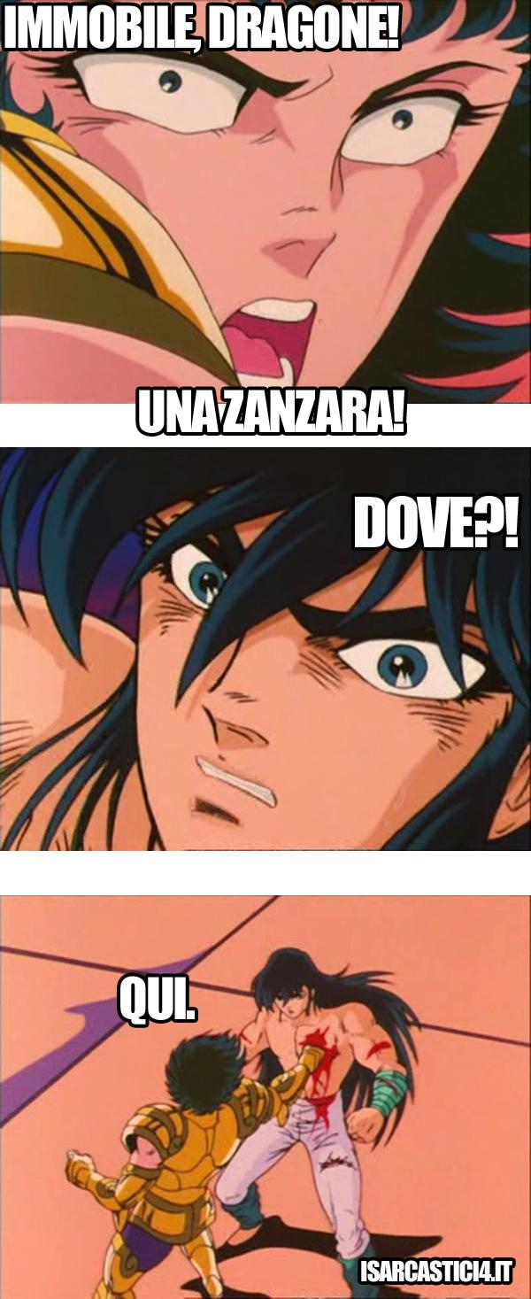 Cavalieri dello zodiaco meme ita - Dove?!