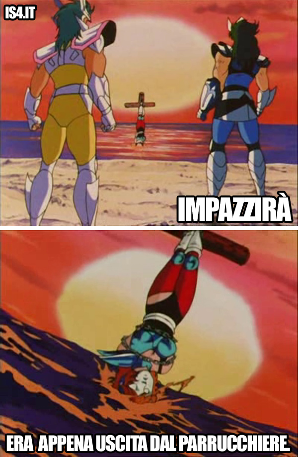 Cavalieri dello zodiaco meme ita - Tortura