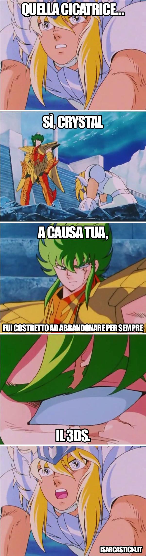 Cavalieri dello zodiaco meme ita - Sfregio