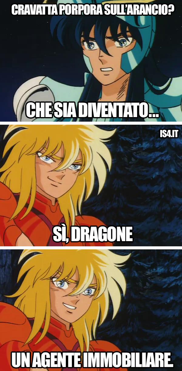 Cavalieri dello zodiaco meme ita - Buongusto