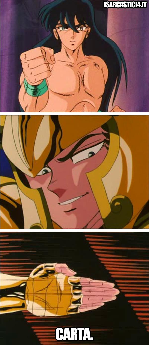Cavalieri dello zodiaco meme ita - La velocità della luce