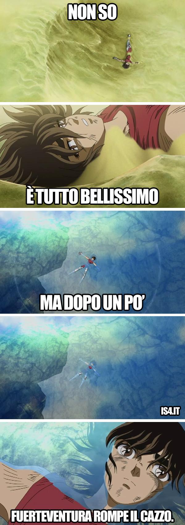 Cavalieri dello zodiaco meme ita - First world problems/04