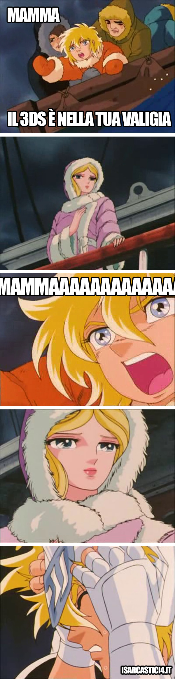 Cavalieri dello zodiaco meme ita - Mamma!