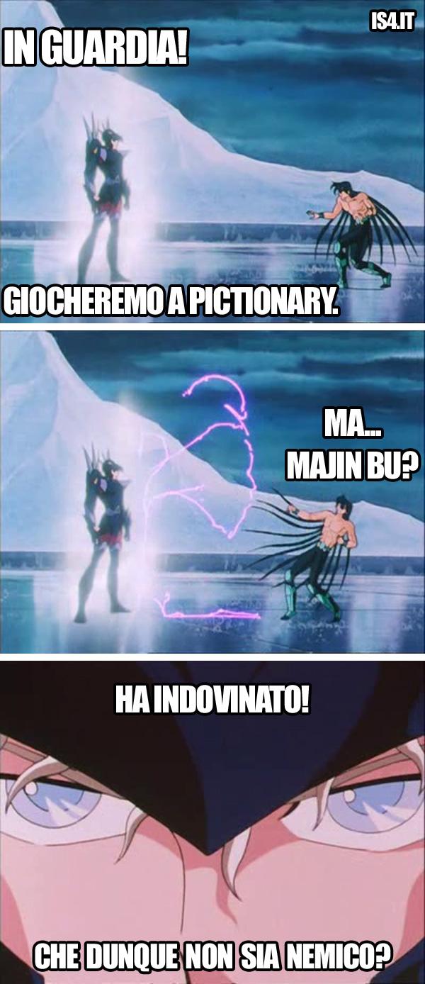 Cavalieri dello zodiaco meme ita - Pictionary