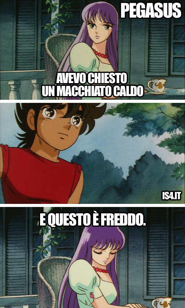 Cavalieri dello zodiaco meme ita - First world problems/03