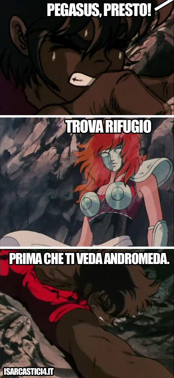 Cavalieri dello zodiaco meme ita - Presto!
