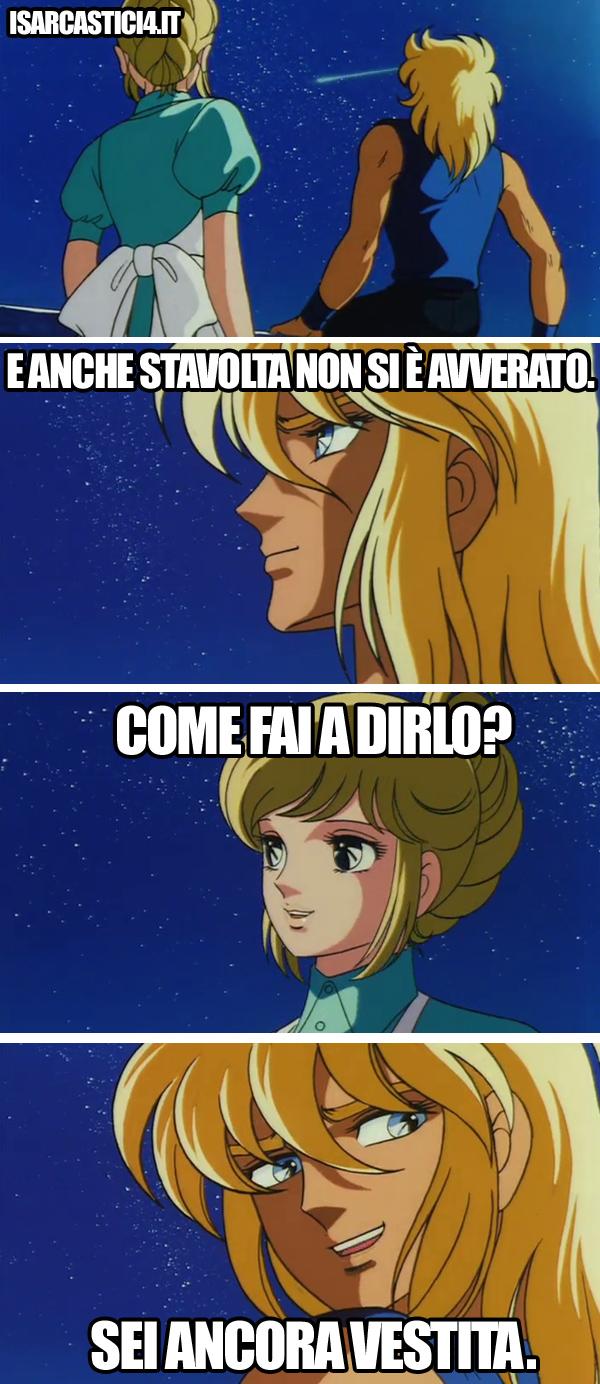 Cavalieri dello zodiaco meme ita - Desiderio