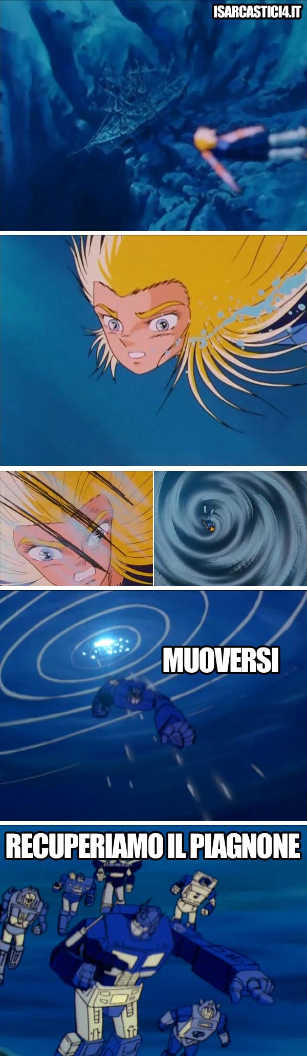Cavalieri dello zodiaco meme ita - Umani...