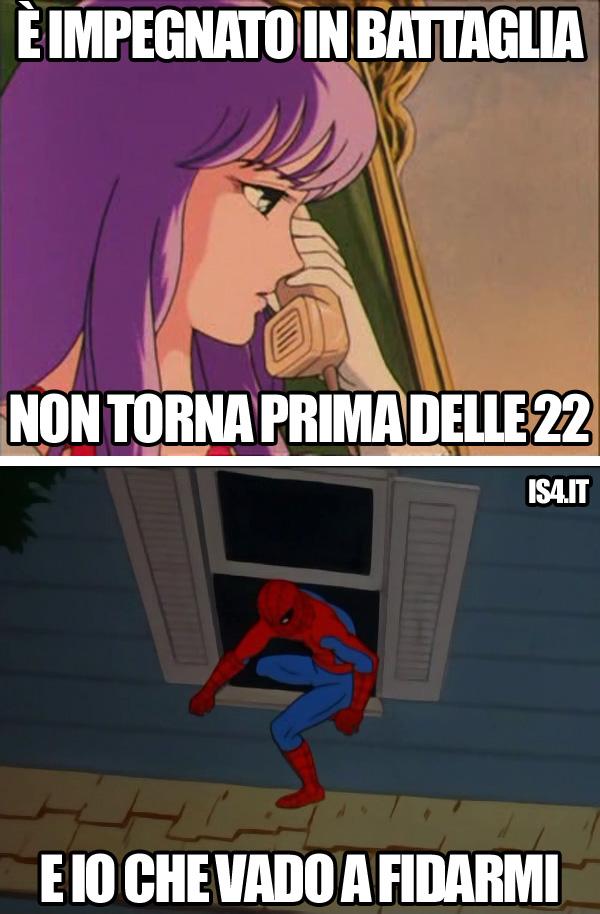 Cavalieri dello zodiaco meme ita - Trust no one