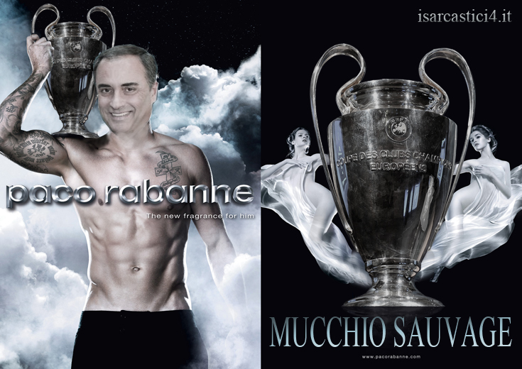 Champions League meme - Sandro Piccinini parodia Invictus - Mucchio selvaggio