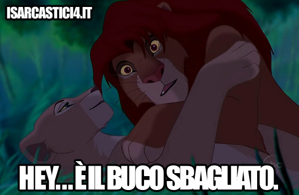 Disney meme - Il re leone