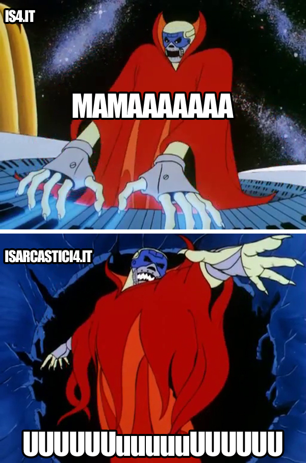 Filmation's Ghostbusters meme ita - Malefix and The Queen