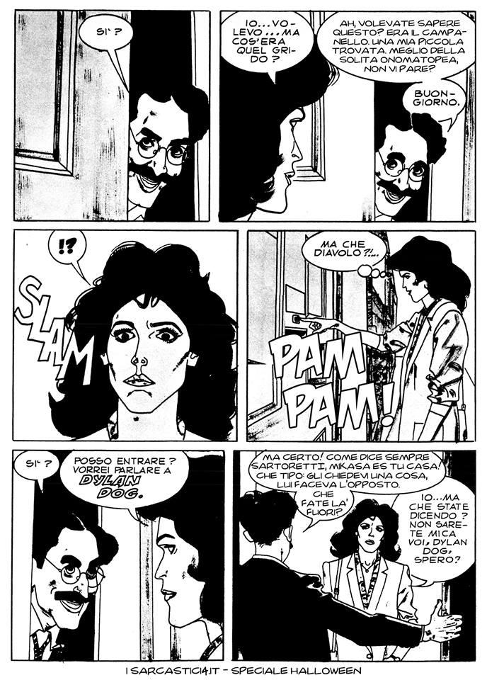 Speciale Halloween - Dylan Dog numero 1 - L'alba dei morti viventi - pagina 04