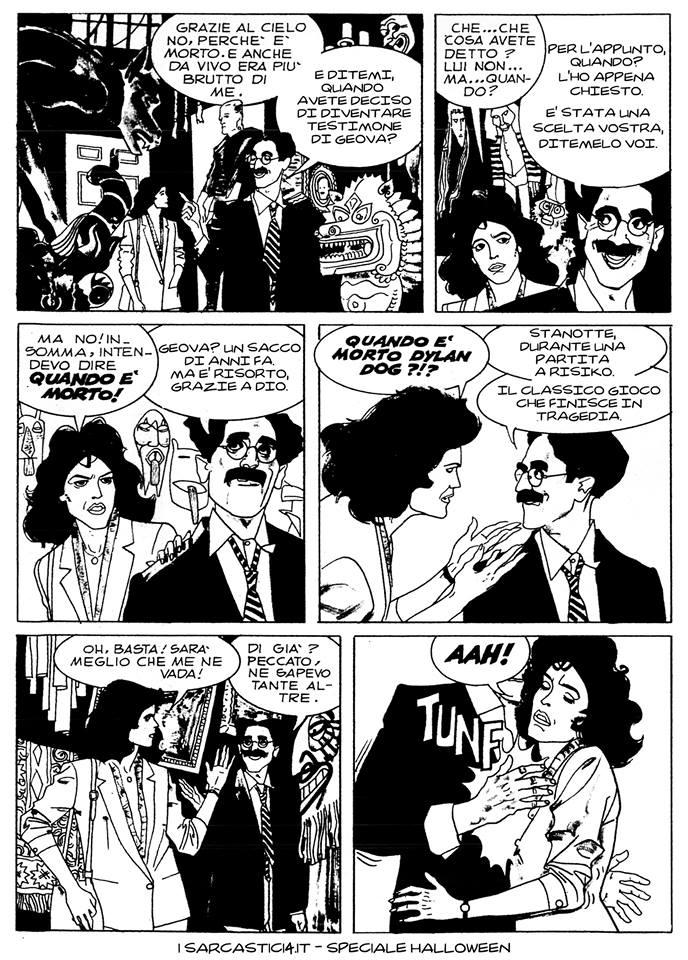 Speciale Halloween - Dylan Dog numero 1 - L'alba dei morti viventi - pagina 05