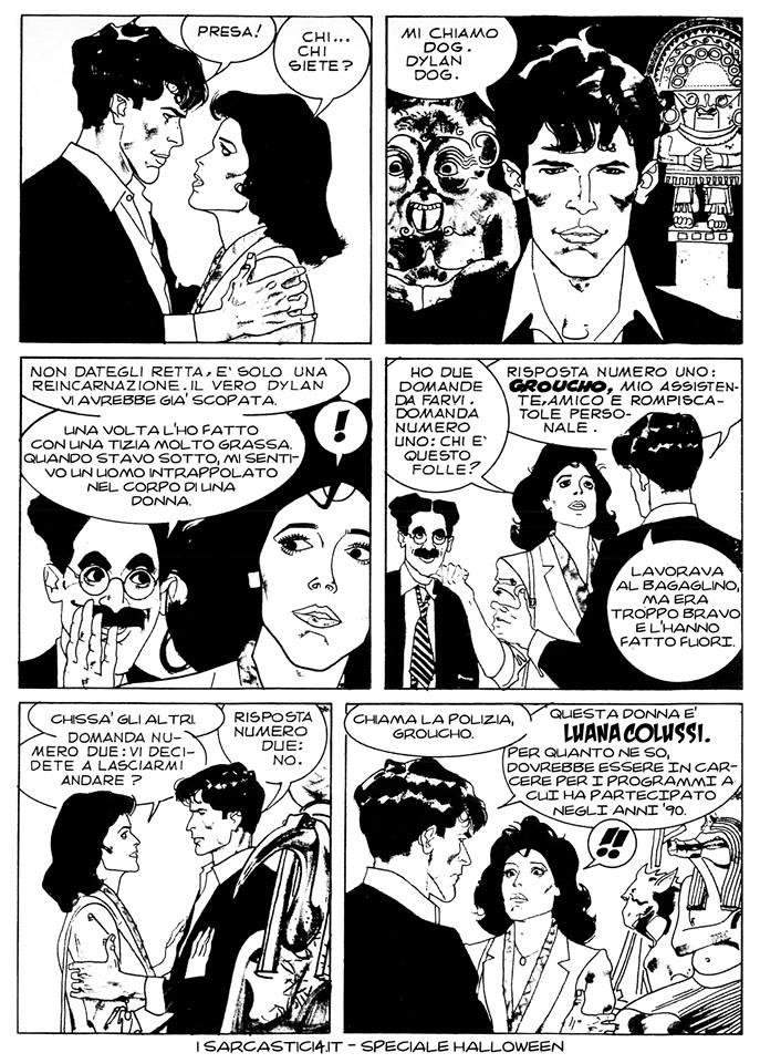 Speciale Halloween - Dylan Dog numero 1 - L'alba dei morti viventi - pagina 06