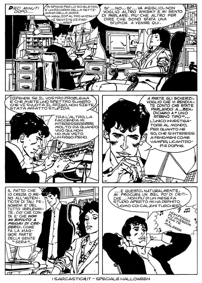 Speciale Halloween - Dylan Dog numero 1 - L'alba dei morti viventi - pagina 08