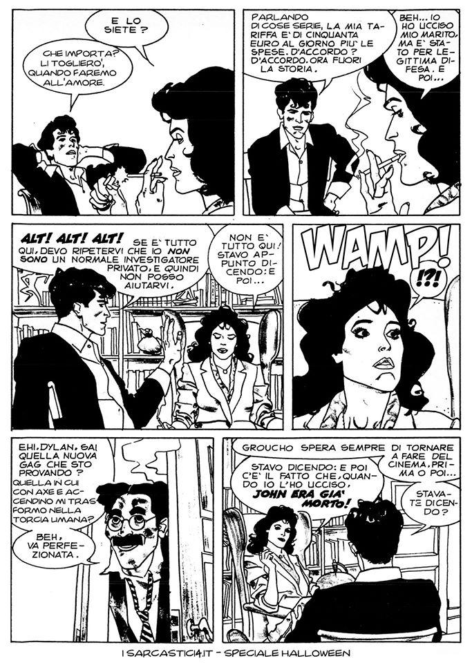 Speciale Halloween - Dylan Dog numero 1 - L'alba dei morti viventi - pagina 09