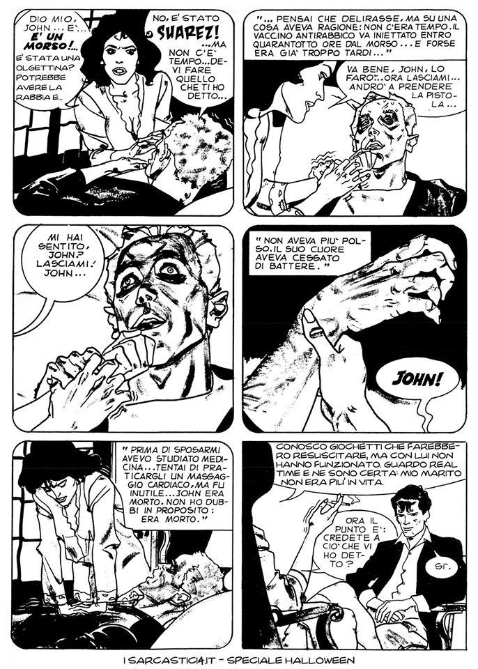 Speciale Halloween - Dylan Dog numero 1 - L'alba dei morti viventi - pagina 12