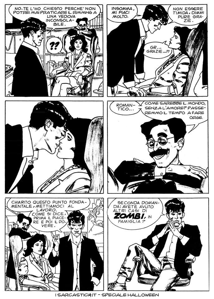 Speciale Halloween - Dylan Dog numero 1 - L'alba dei morti viventi - pagina 16