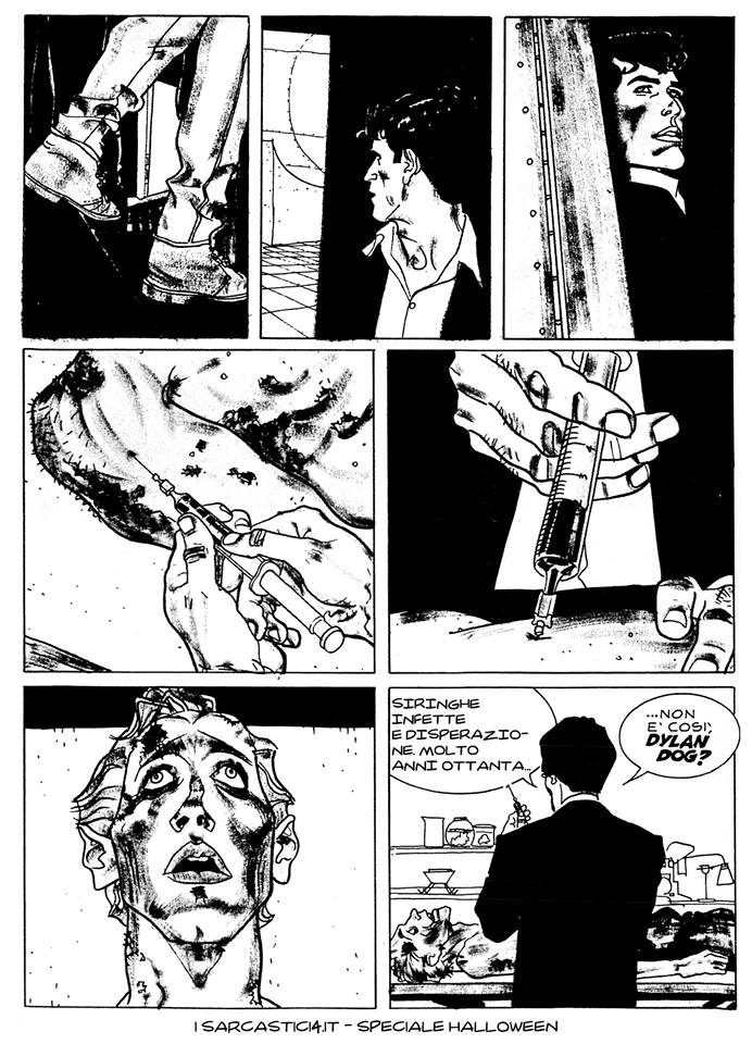 Speciale Halloween - Dylan Dog numero 1 - L'alba dei morti viventi - pagina 38