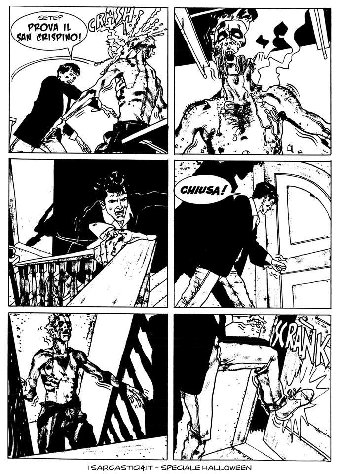 Speciale Halloween - Dylan Dog numero 1 - L'alba dei morti viventi - pagina 45