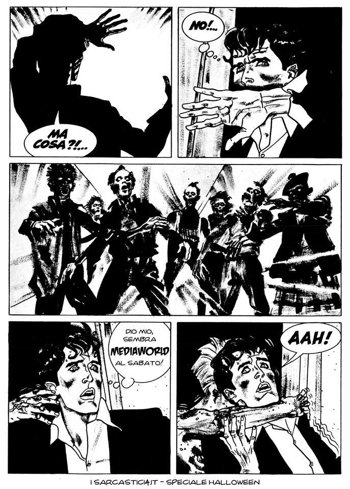 Speciale Halloween - Dylan Dog numero 1 - L'alba dei morti viventi - pagina 46