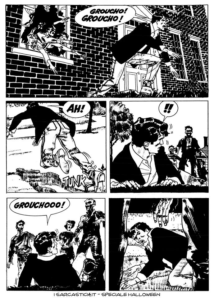Speciale Halloween - Dylan Dog numero 1 - L'alba dei morti viventi - pagina 48