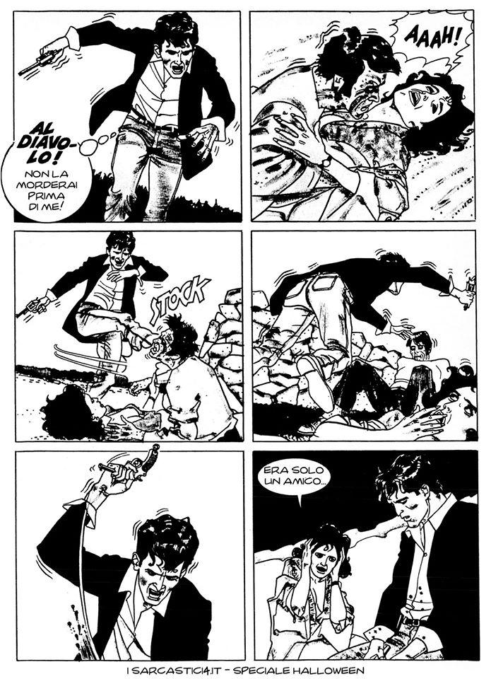Speciale Halloween - Dylan Dog numero 1 - L'alba dei morti viventi - pagina 51
