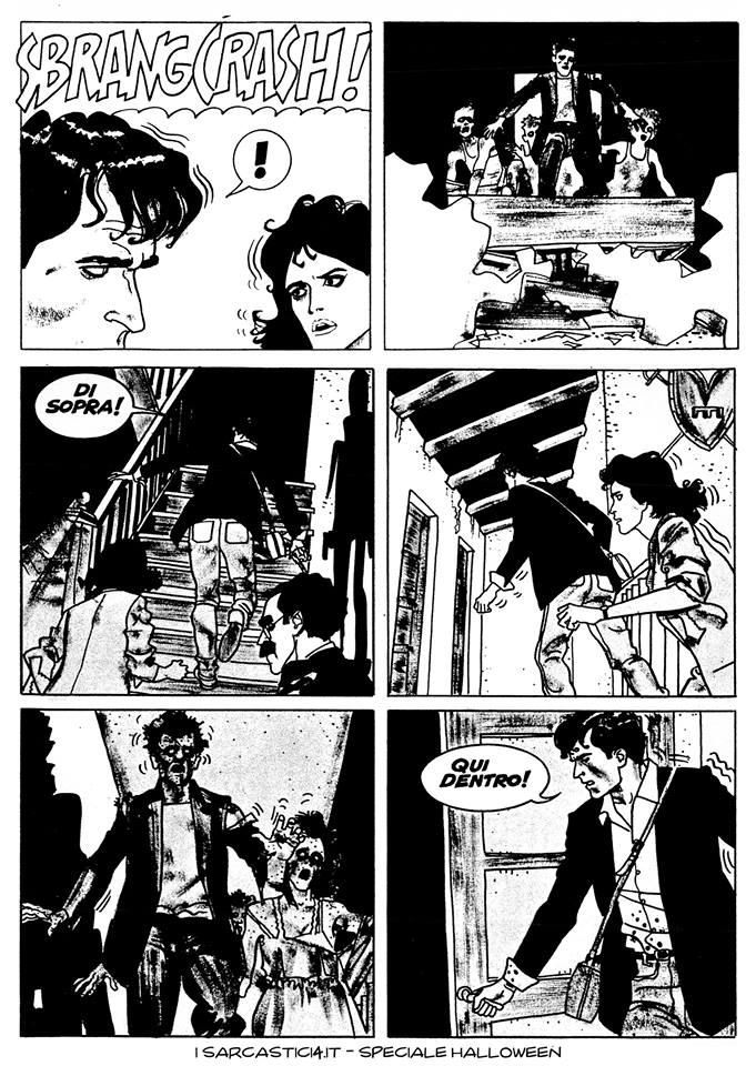 Speciale Halloween - Dylan Dog numero 1 - L'alba dei morti viventi - pagina 56