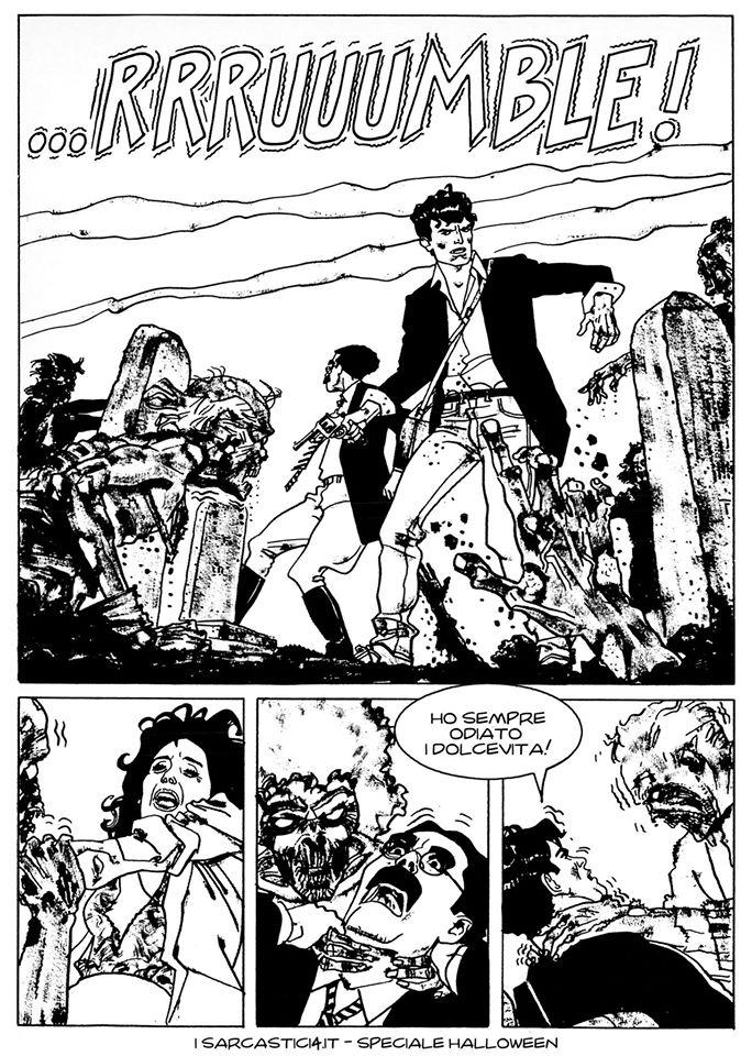 Speciale Halloween - Dylan Dog numero 1 - L'alba dei morti viventi - pagina 61