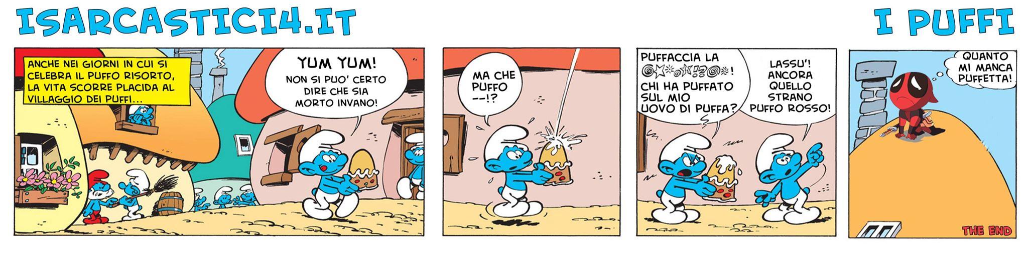 I puffi / The Smurfs - Natale con i tuoi, Puffa con chi vuoi