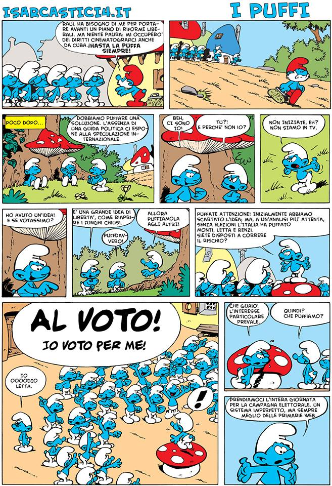 Peyo - I puffi / The Smurfs - pagina 01